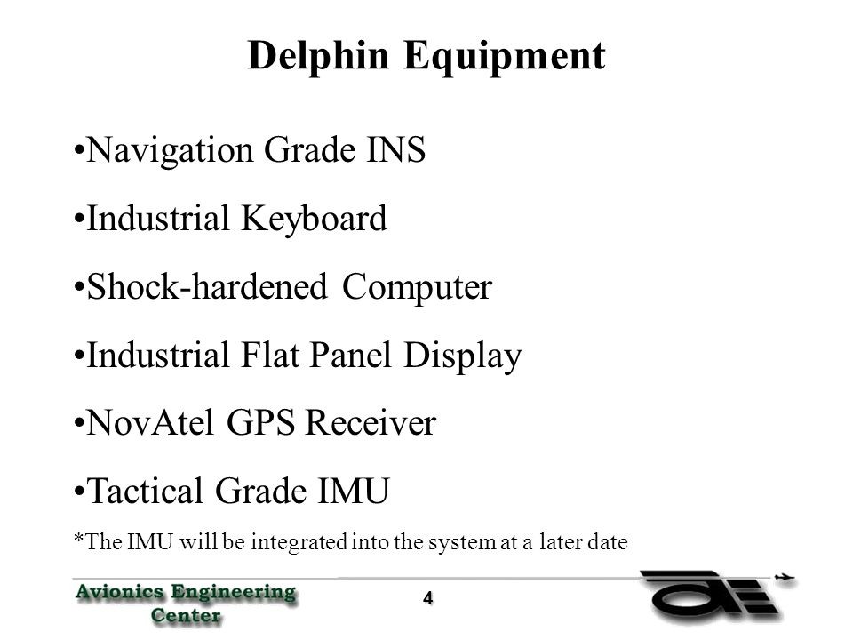 25 25 GPS and INS Data Continued