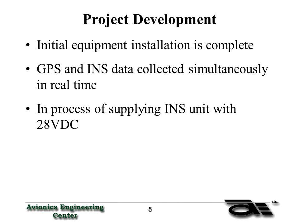 6 System Block Schematic ADCINS PC104 GPS data 12 VDC Aircraft Power 28 VDC INV 115VAC/ 400Hz Potentiometer data Power Data