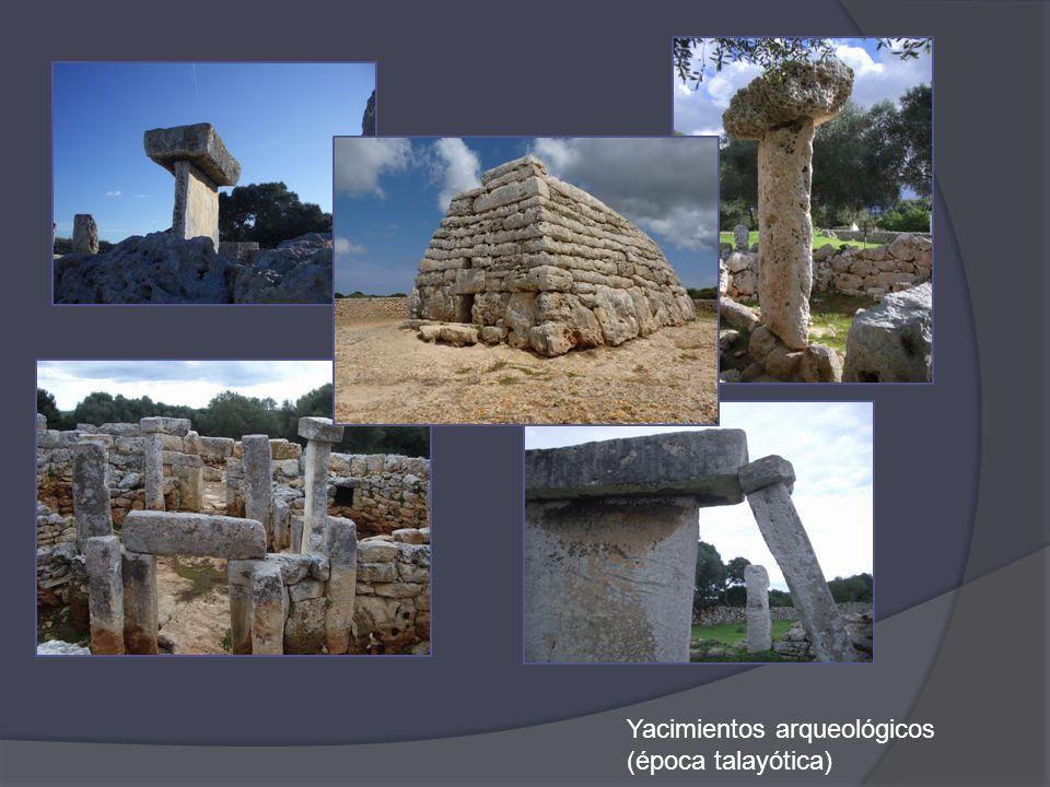 Yacimientos arqueológicos (época talayótica)