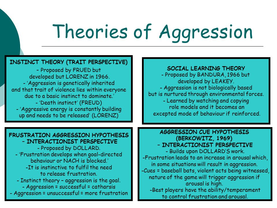 describe social learning theory aggression essay Bandura's social learning theory essay social learning theory and aggression essay social learning theory and its application to aggression social learning.