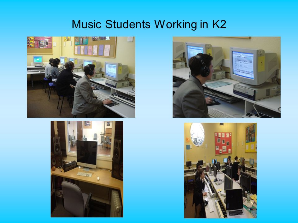 Music Students Working in K2