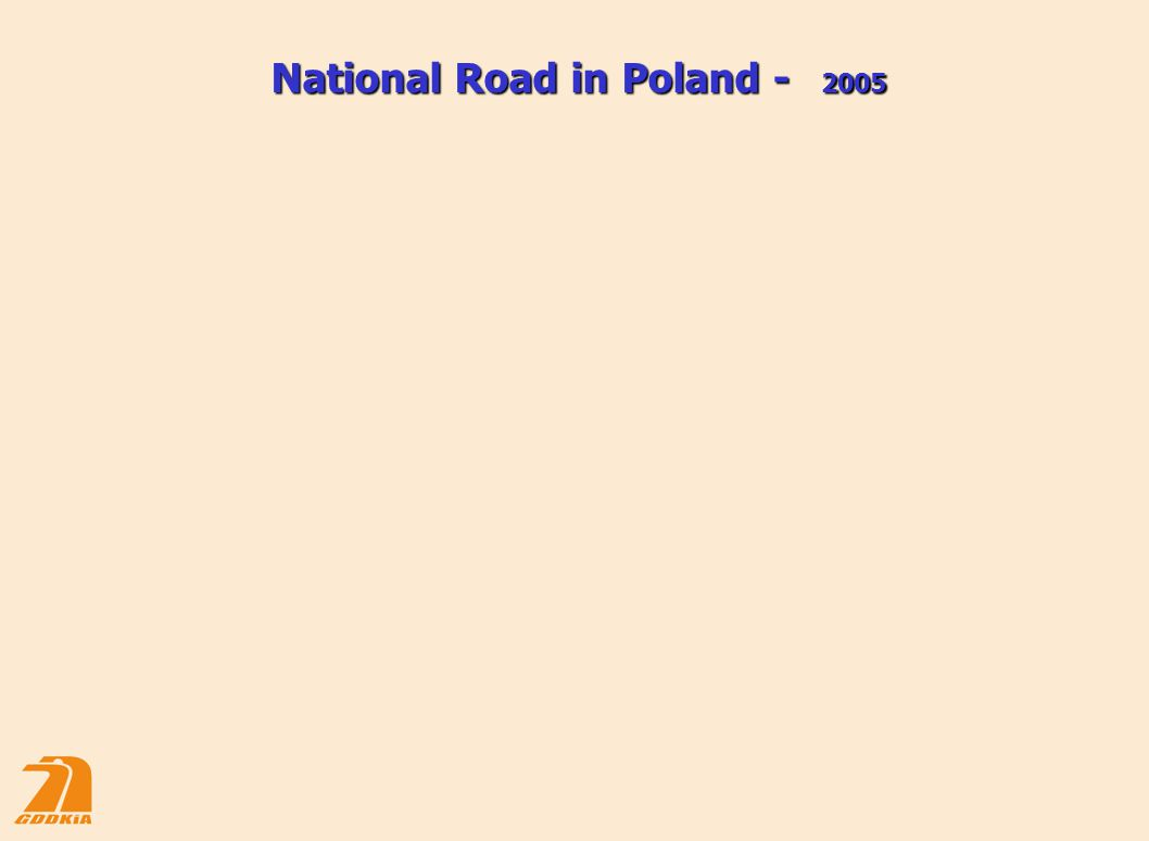 National Road in Poland - 2005