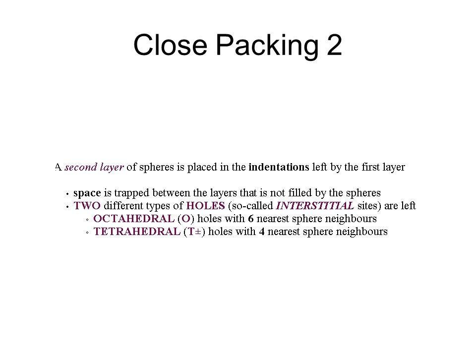 Close Packing 2