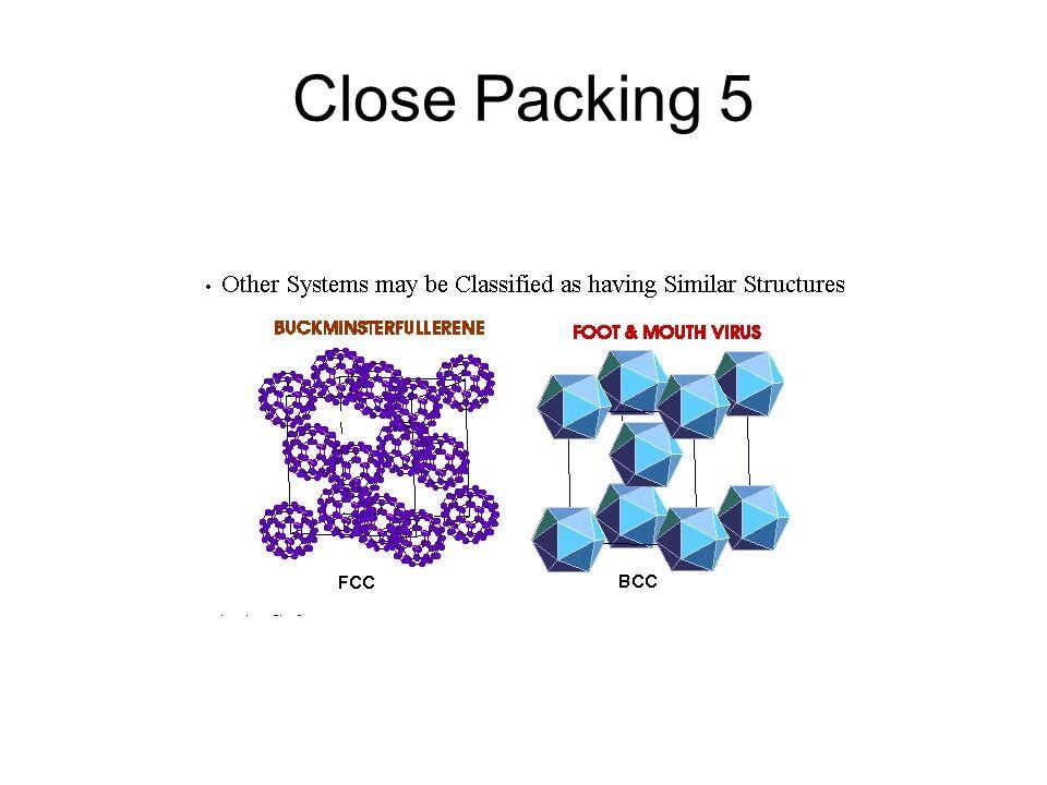 Close Packing 5