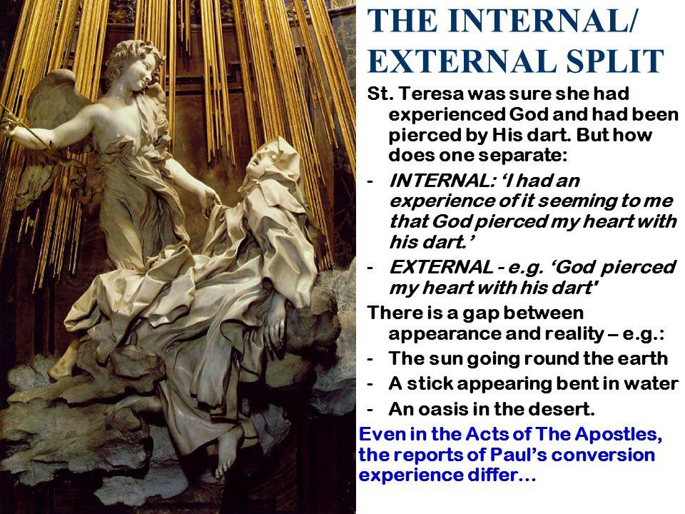 THE INTERNAL/ EXTERNAL SPLIT St.