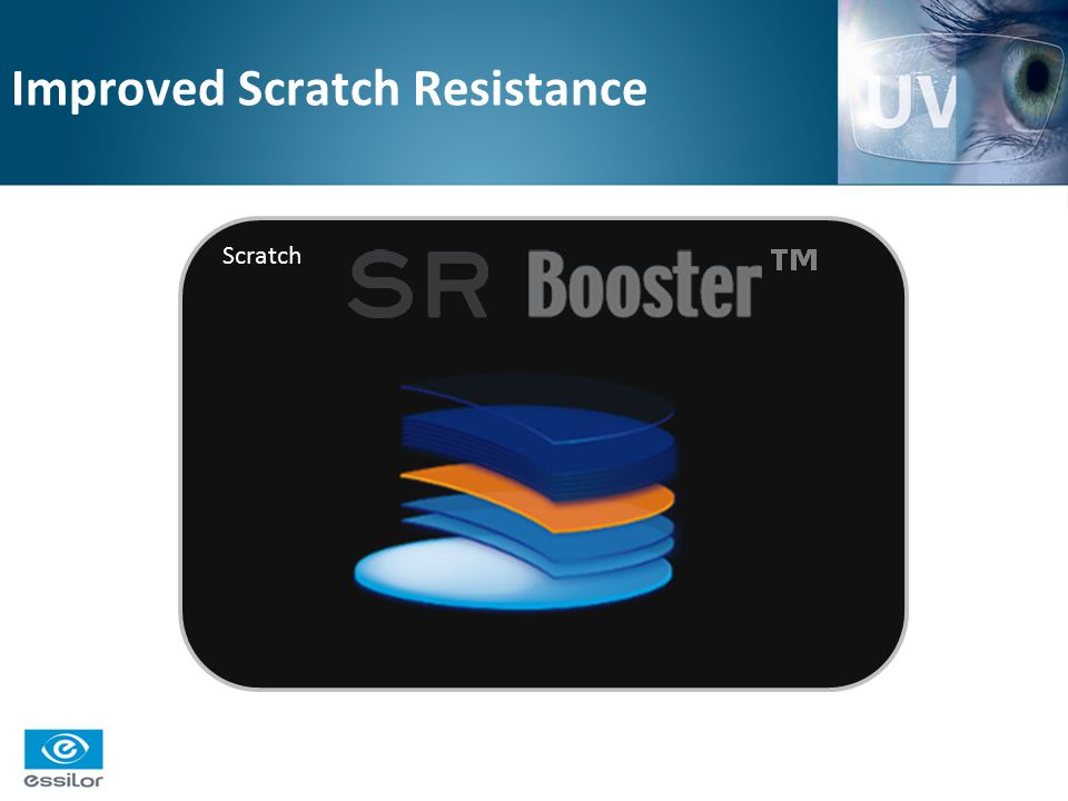 Improved Scratch Resistance Scratch
