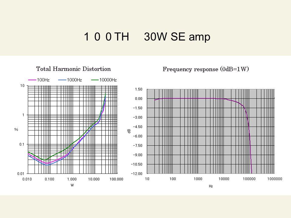 100 TH 30W SE amp