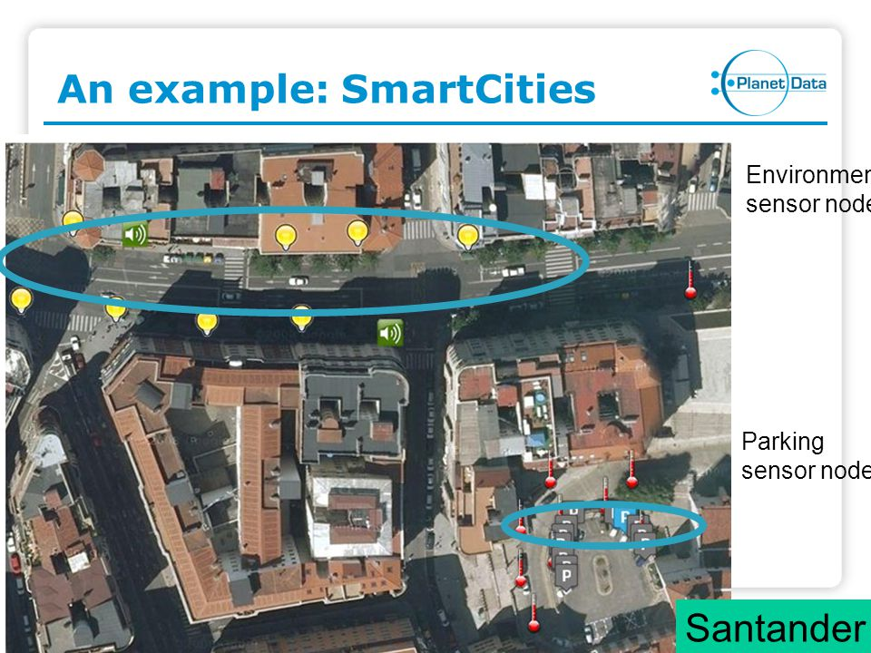 Slide 6 of x Sensor Networks and Streaming Data 6 Streaming Data (t9, a1, a2,..., an) (t8, a1, a2,..., an) (t7, a1, a2,..., an)...