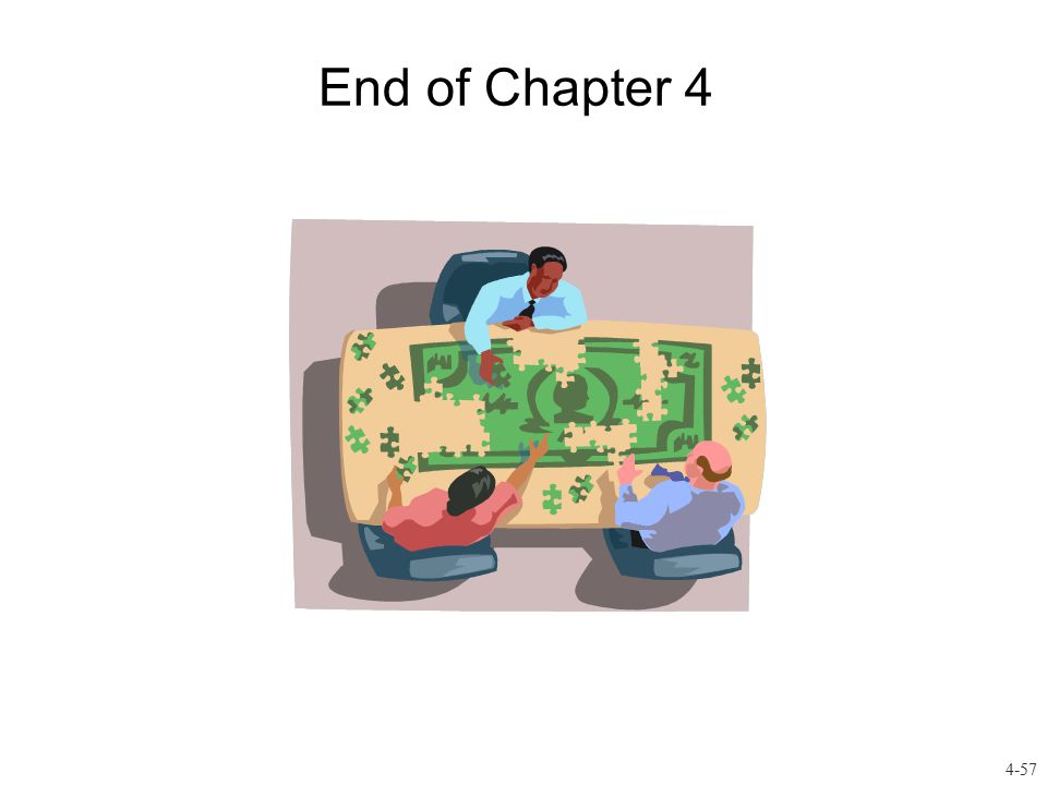 End of Chapter 4 4-57