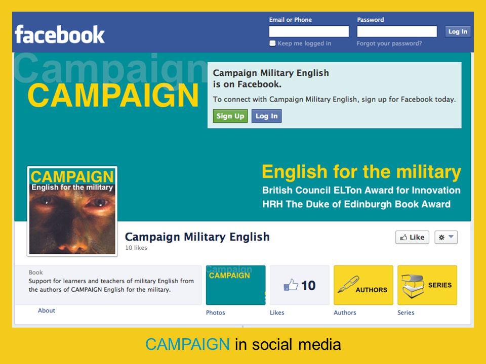 CAMPAIGN in social media