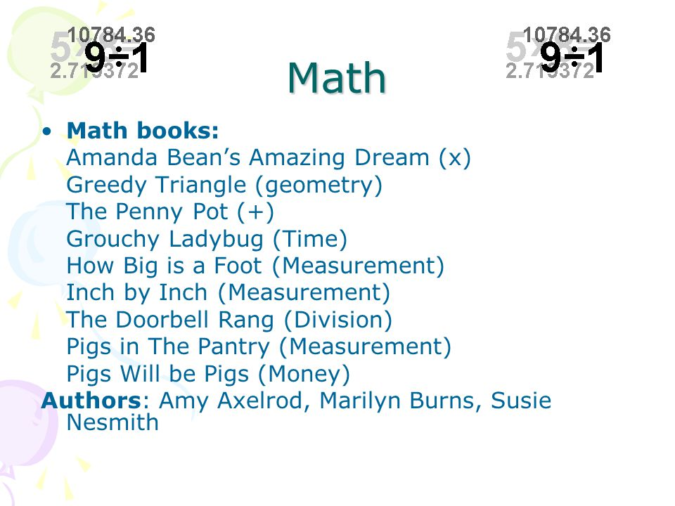 Theory Base: Reading-Writing Connection Math teachers can make math meaningful for literacy students by designing instructional activities that build upon students' real life experiences.