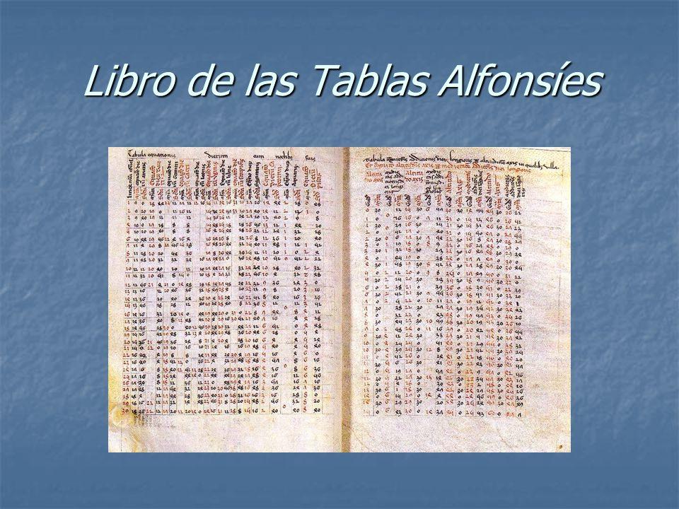 Libro de las Tablas Alfonsíes