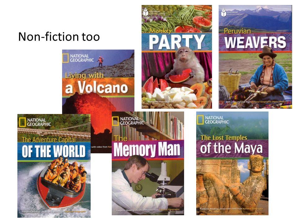 Non-fiction too