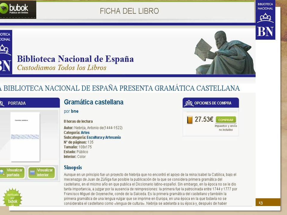 BNE's Biblioteca Digital Hispánica 13