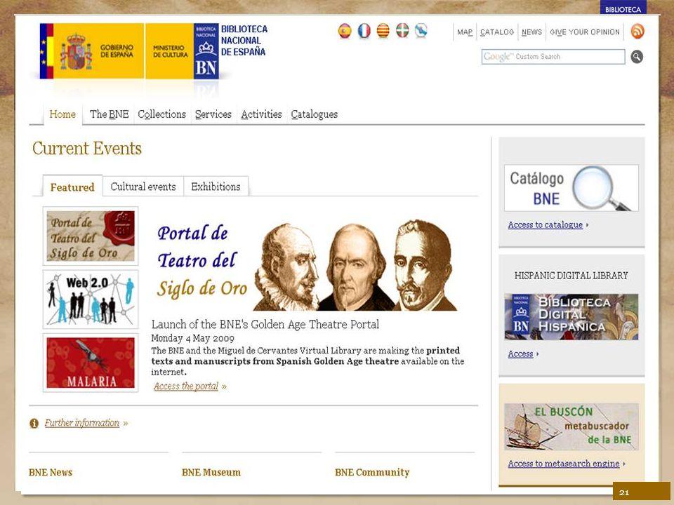 BNE's Biblioteca Digital Hispánica 21