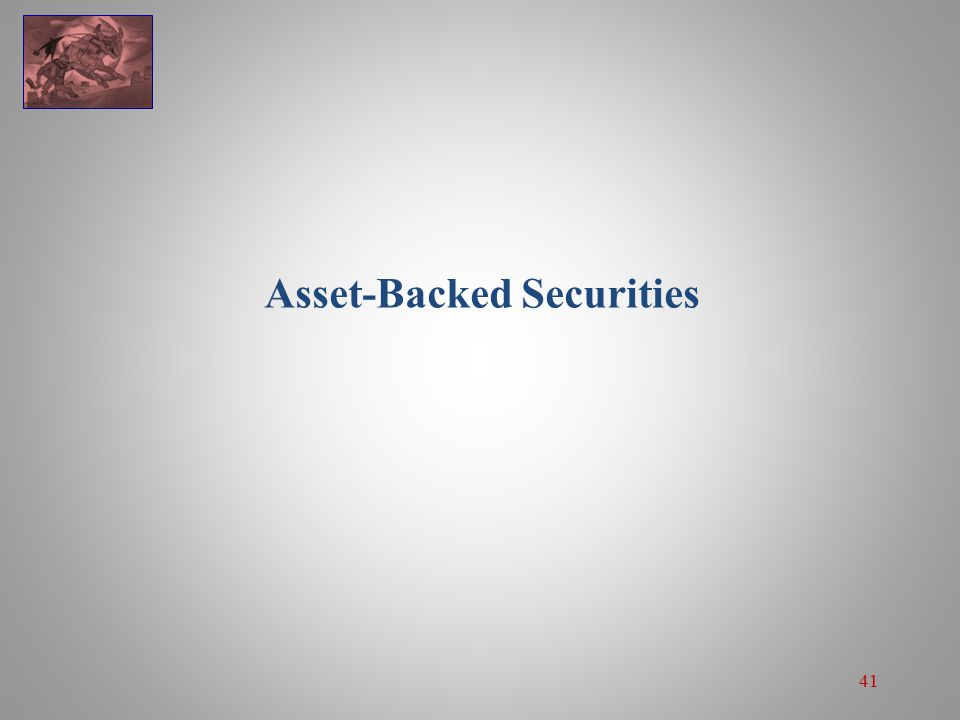 41 Asset-Backed Securities