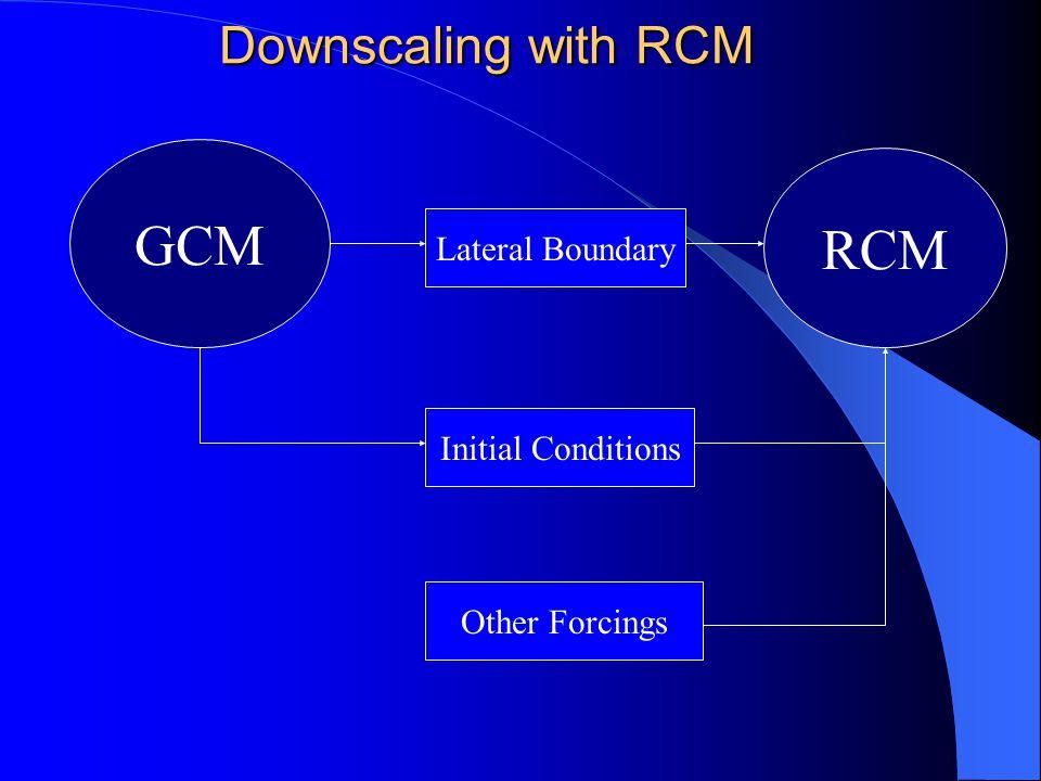 A demo for RCM downscaling HadAM3P PRECIS A demo for RCM downscaling