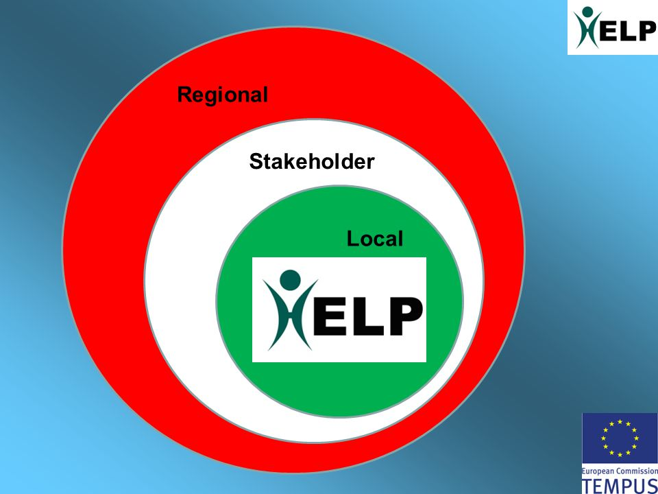 rrr Regional Stakeholder Local