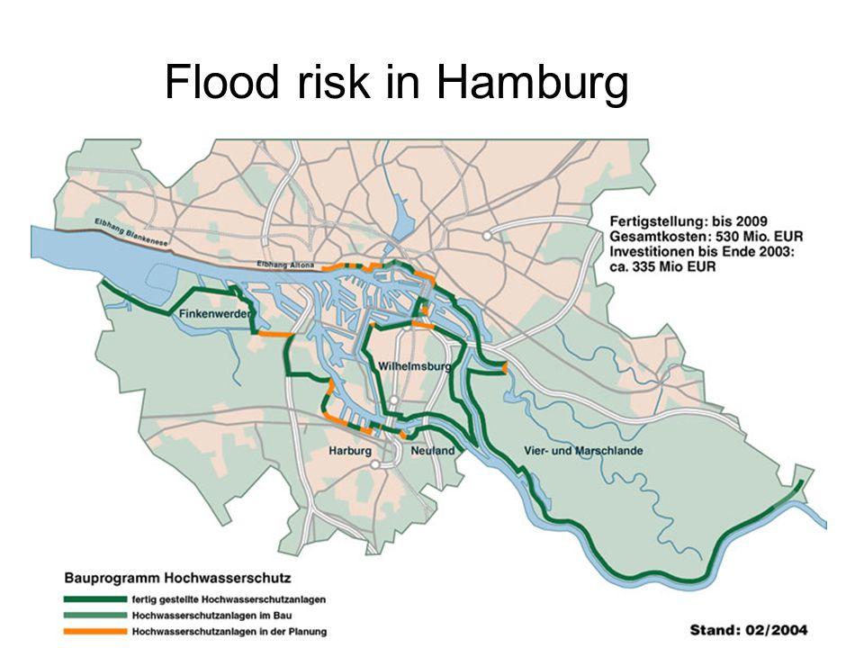 Flood risk in Hamburg