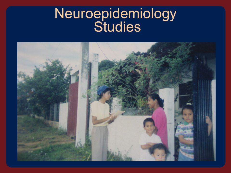 Neuroepidemiology Studies