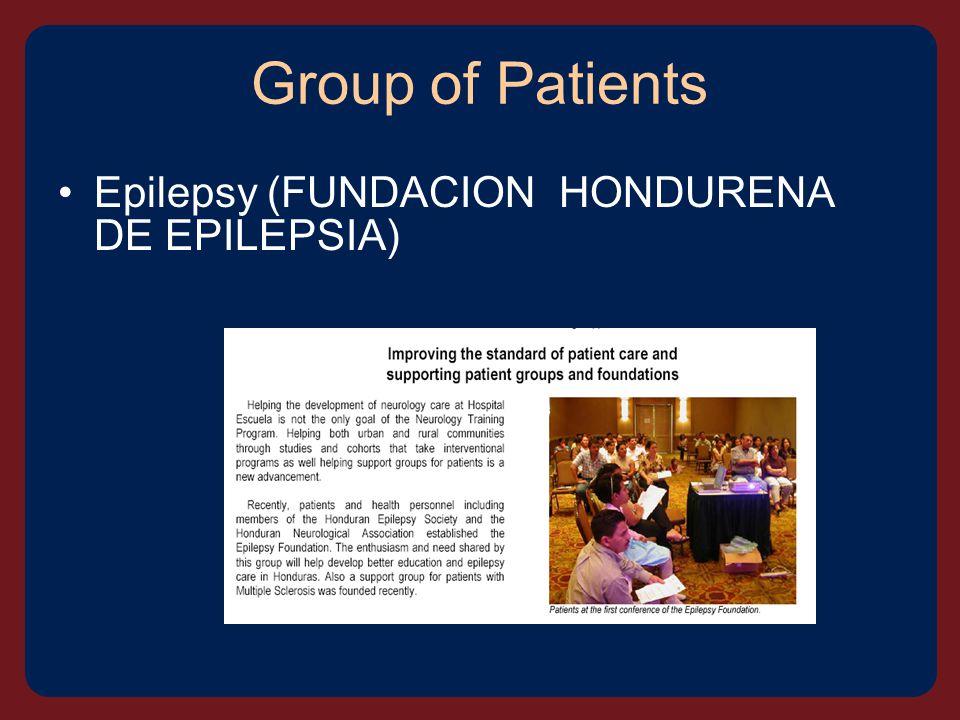 Group of Patients Epilepsy (FUNDACION HONDURENA DE EPILEPSIA)