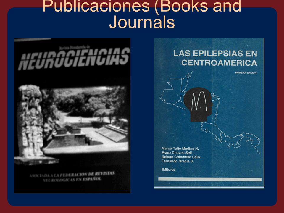 Publicaciones (Books and Journals