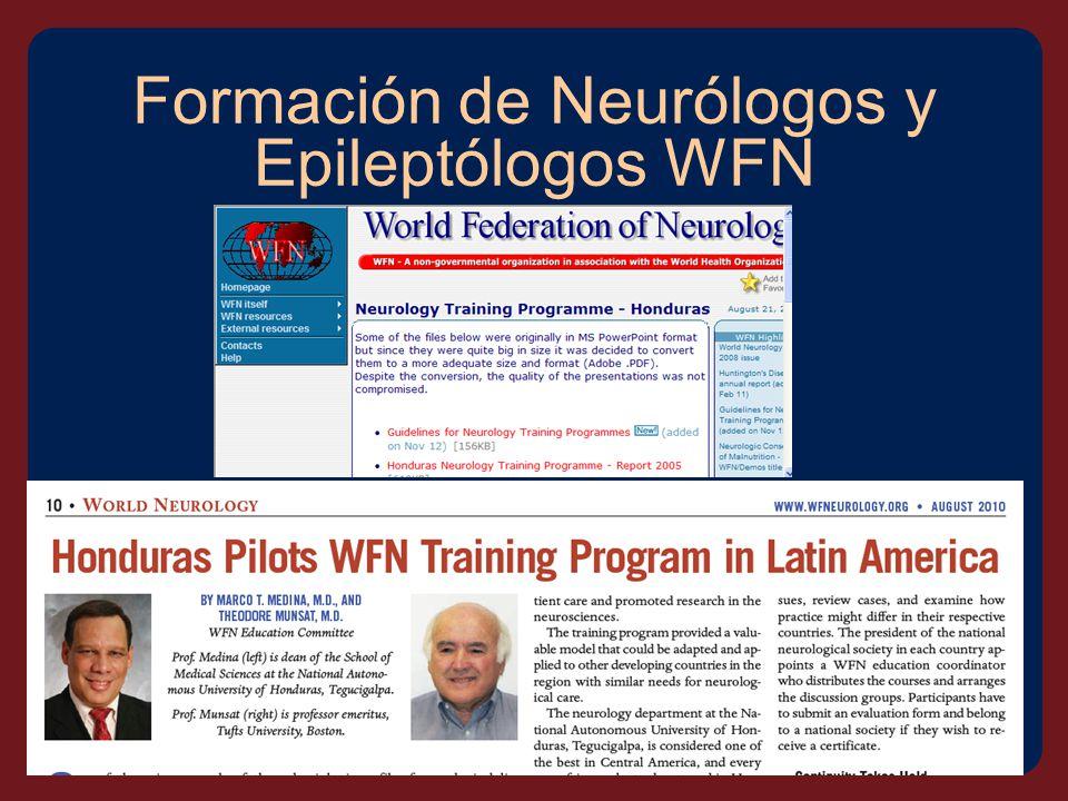 Formación de Neurólogos y Epileptólogos WFN