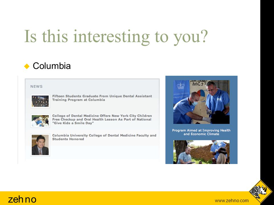 www.zehno.com zehno Is this interesting to you  Columbia