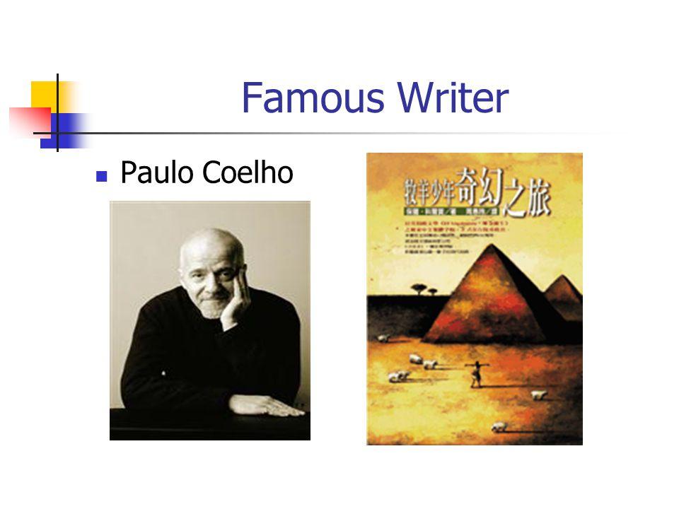 Famous Writer Paulo Coelho