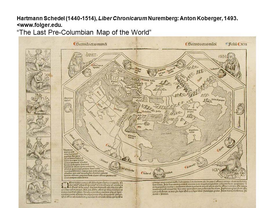 Hartmann Schedel (1440-1514), Liber Chronicarum Nuremberg: Anton Koberger, 1493.