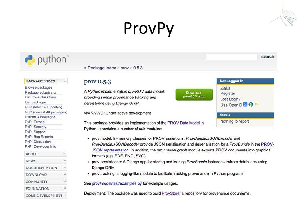 ProvPy