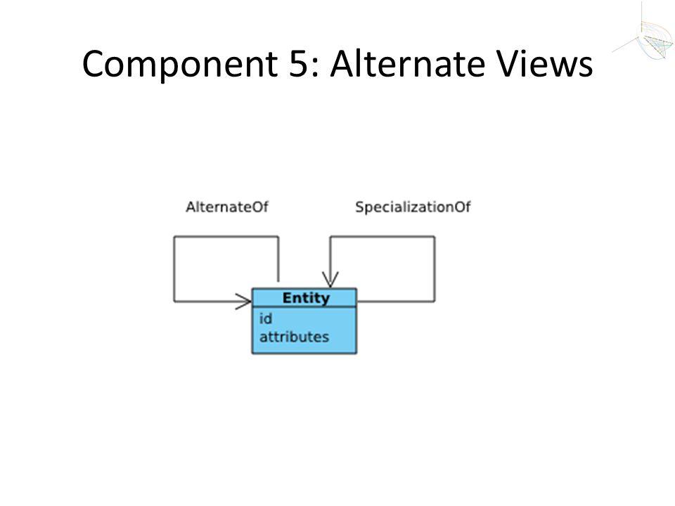 Component 5: Alternate Views