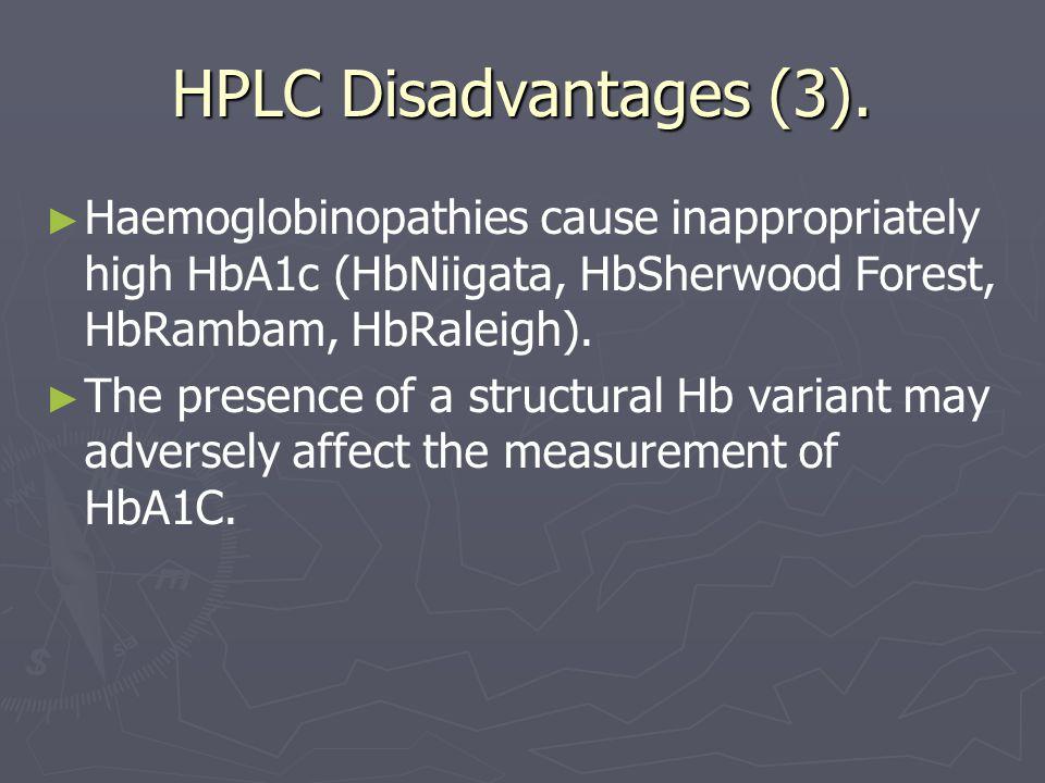 HPLC Disadvantages (3).