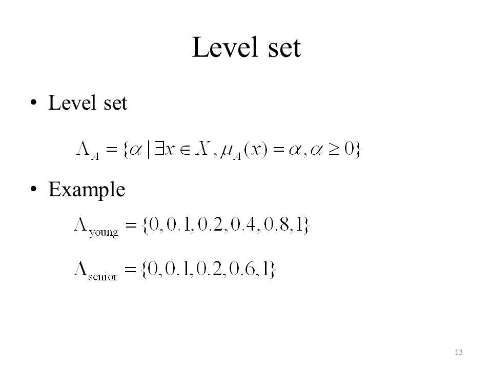 Level set Example 13