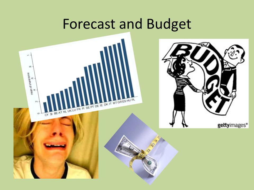 Forecast and Budget