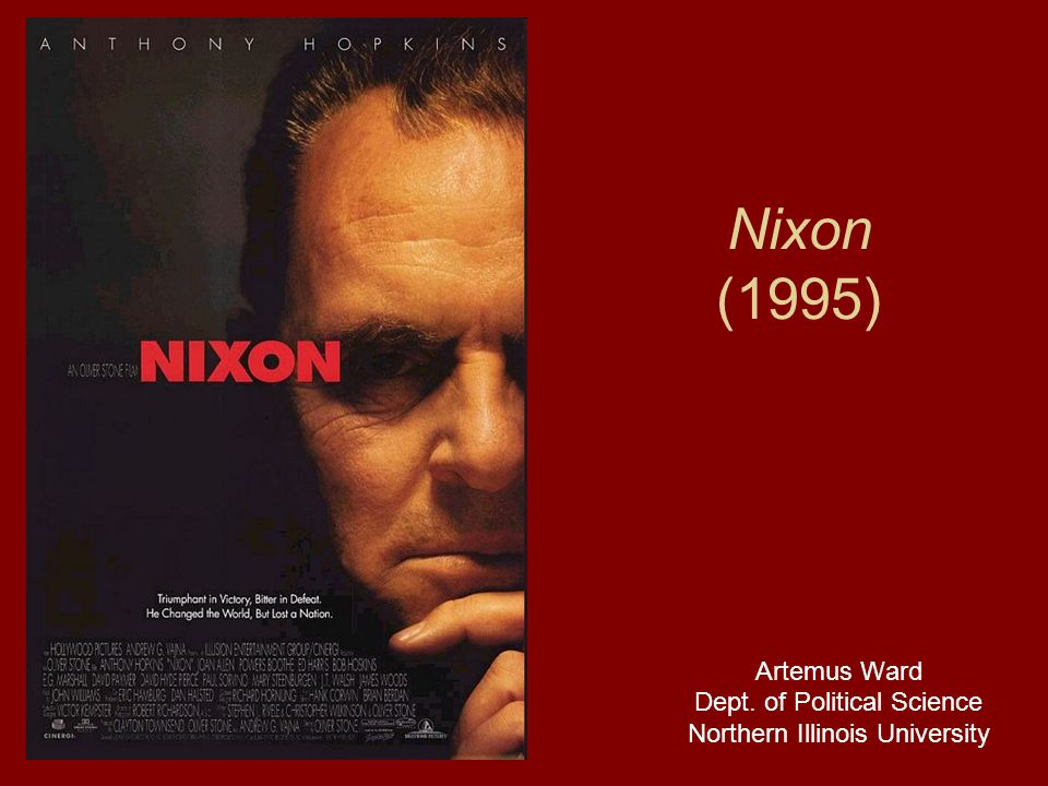 Nixon (1995) Artemus Ward Dept. of Political Science Northern Illinois University