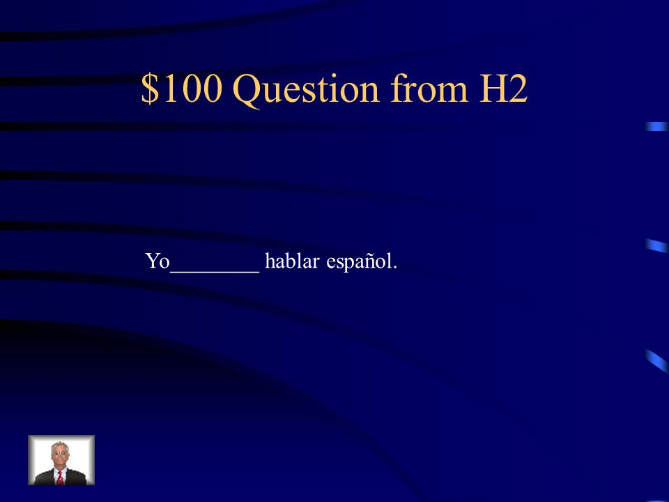 $500 Answer from H1 duermen