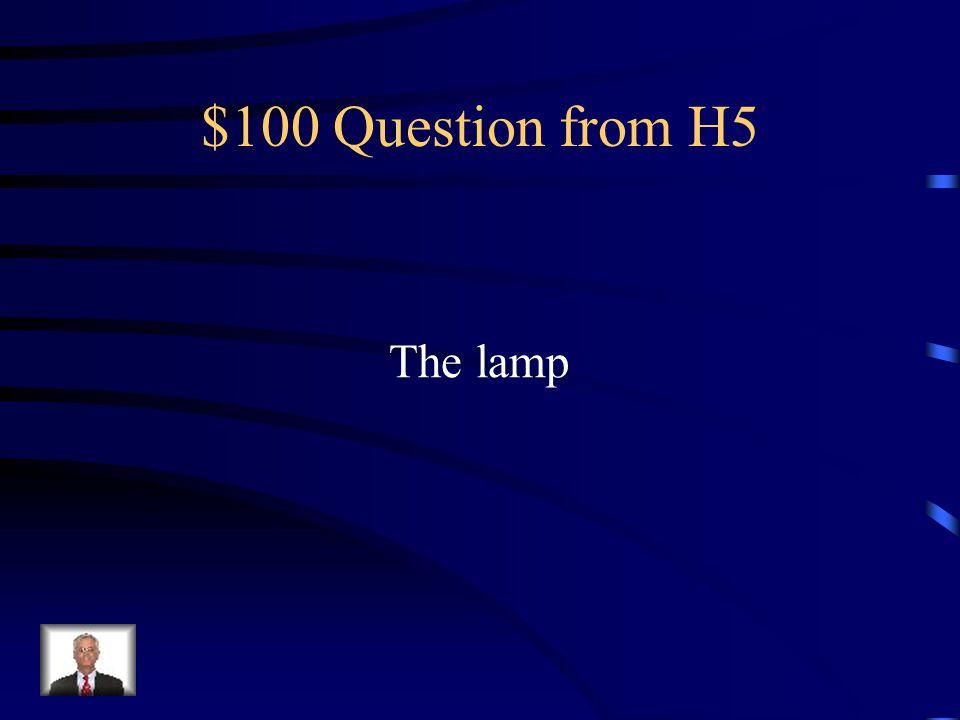 $500 Answer from H4 Tienen el peor perro.