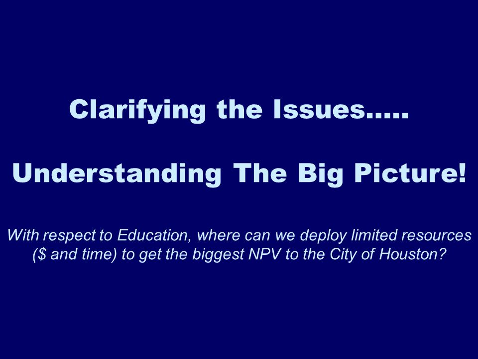 The Fundamentals Affecting Education
