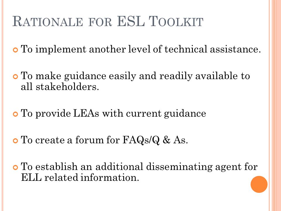 T ITLE III W EBINAR S ERIES Target Audience: Title III subgrantees and consortia The following recorded webinars and powerpoints are available on the ESL Portal at www.eslportalpa.info :www.eslportalpa.info Title III Application and Approved Activities Title III Requirements for Translation/Interpretation, Equitable Services for Nonpublic Students, Supplement v.