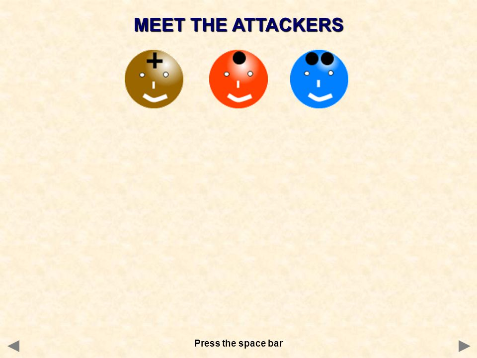 MEET THE ATTACKERS I AM AN ELECTROPHILE I HAVE A + CHARGE or a  CHARGE.