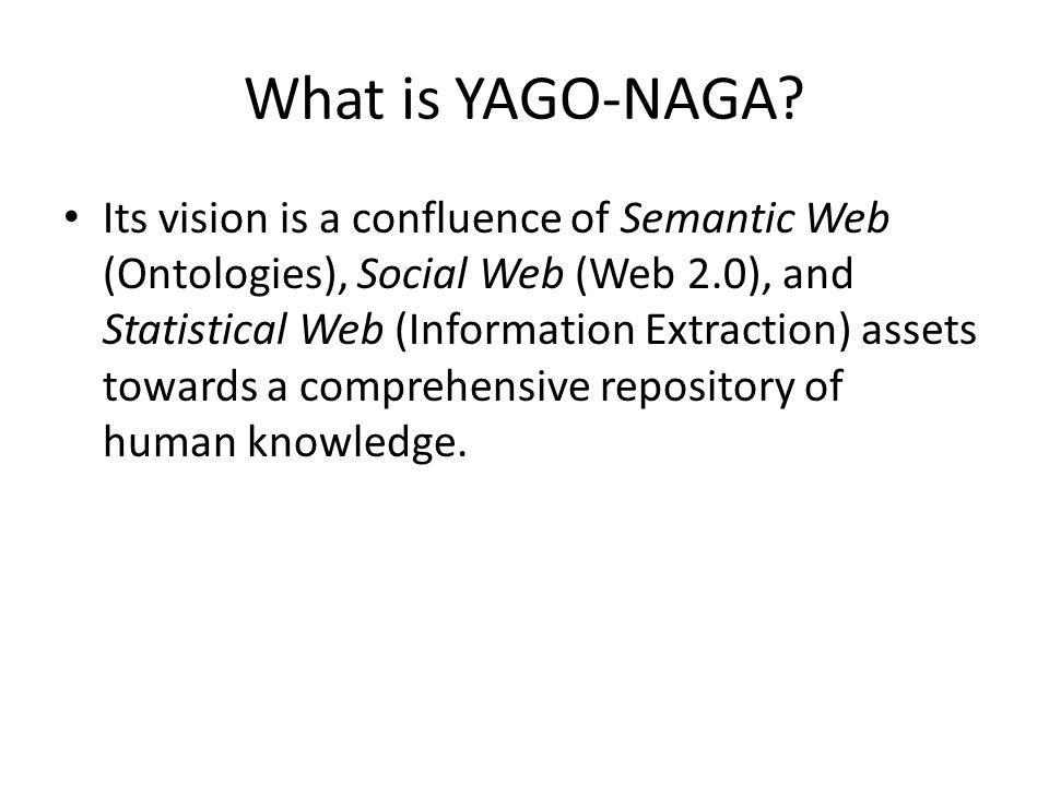 What is YAGO-NAGA.