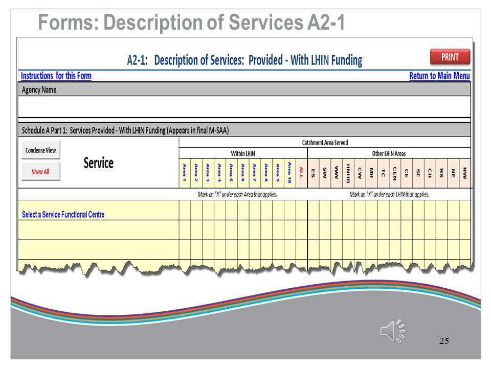 Forms: Service Plan Narrative Part A1-2 24