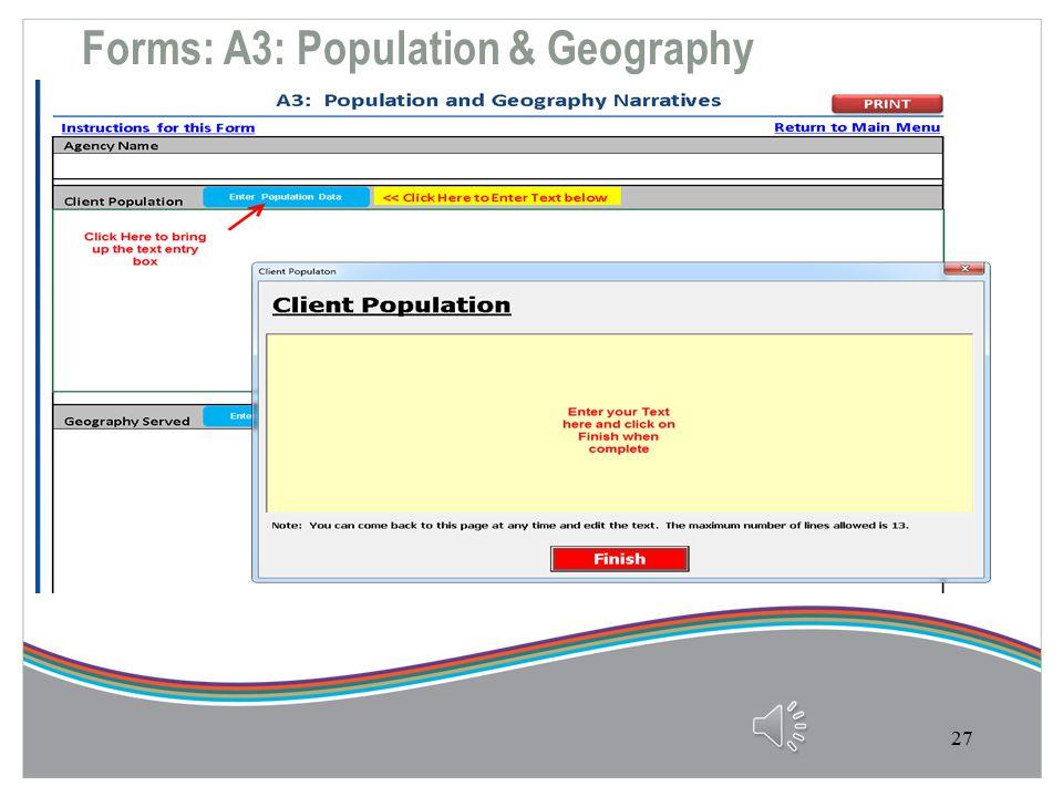 Forms: Description of Services A2-2 26