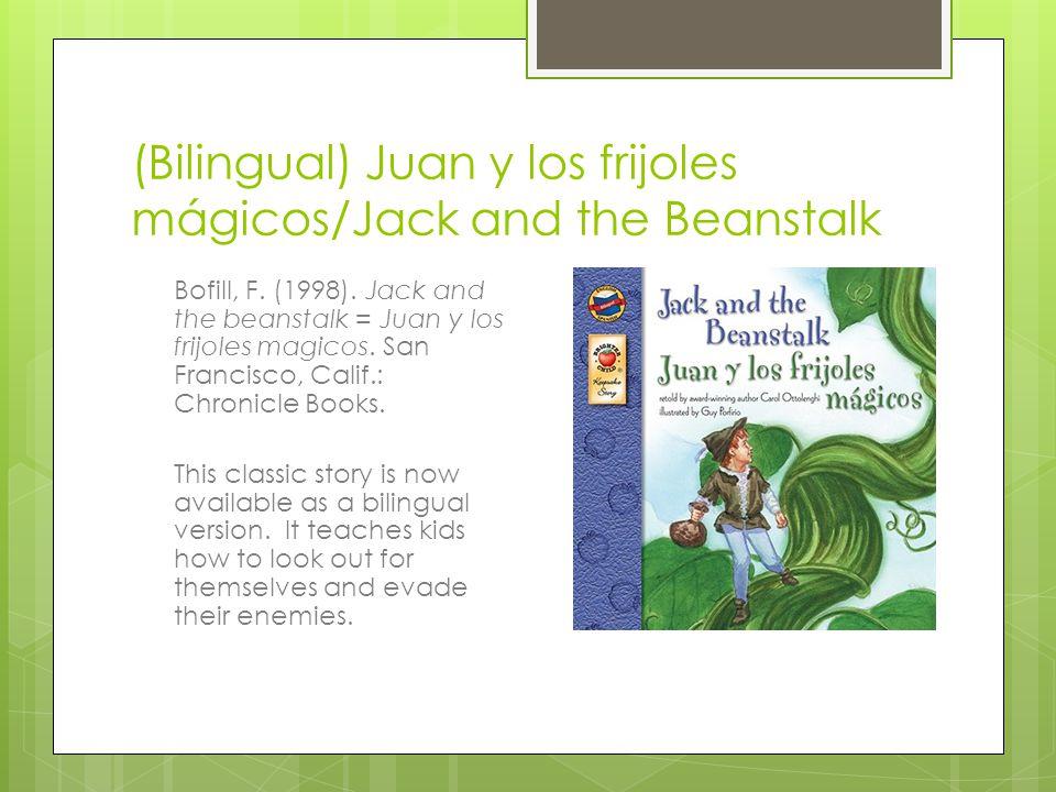 (Bilingual) Juan y los frijoles mágicos/Jack and the Beanstalk Bofill, F.