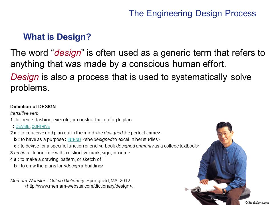 A design process is a systematic problem-solving strategy, with criteria and constraints, used to develop many possible solutions to solve or satisfy human needs or wants and to narrow down the possible solutions to one final choice.