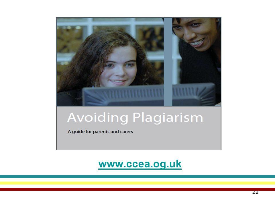 22 www.ccea.og.uk