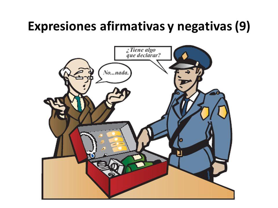 Expresiones afirmativas y negativas (9)