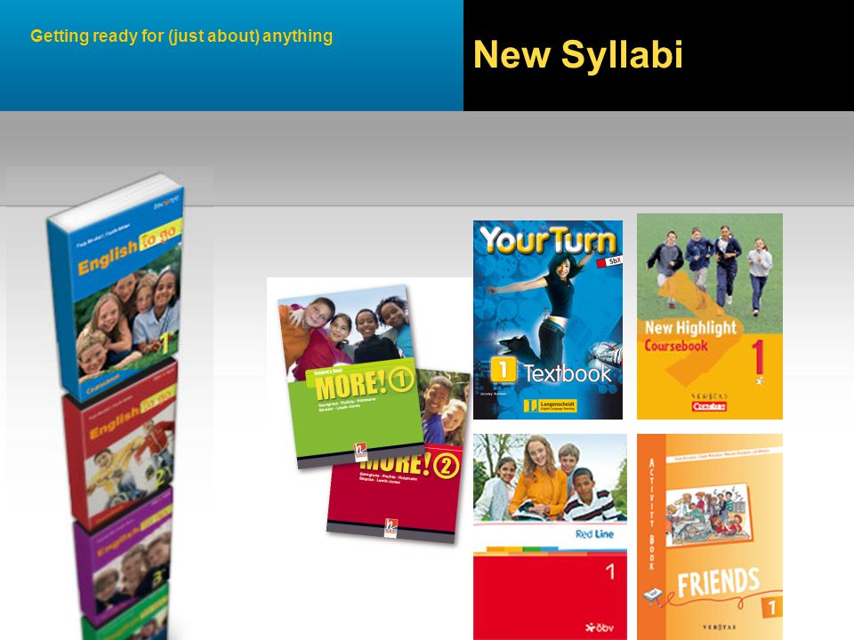 Getting ready for (just about) anything New Syllabi