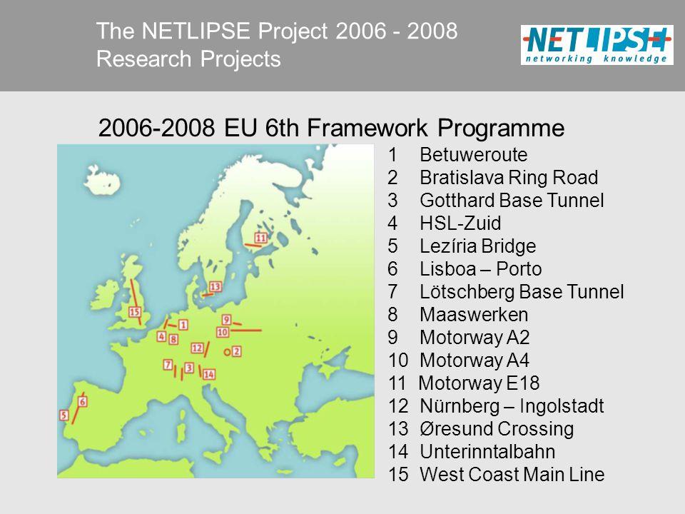 The NETLIPSE Project 2006 - 2008 Results ISBN 978-90-810025-2-3 available at www.netlipse.eu or via business card… www.netlipse.eu